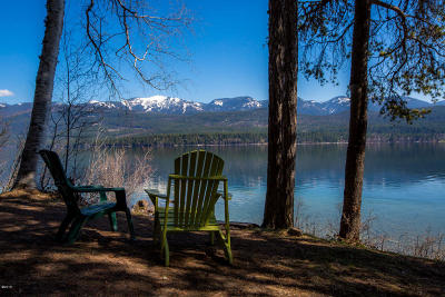Flathead County Residential Lots & Land For Sale: 1648 West Lakeshore Drive