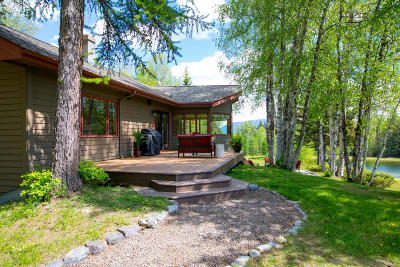Whitefish Single Family Home For Sale: 405 Haskill Creek Road