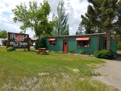 Columbia Falls Commercial For Sale: 7386 Hwy 2 East