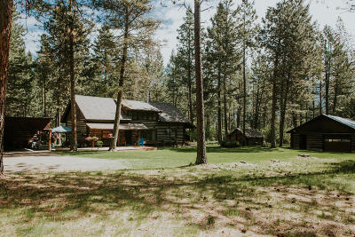 Missoula Single Family Home For Sale: 20850 Whispering Pines Road