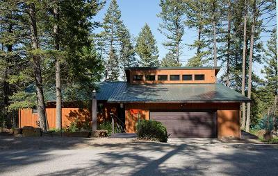 Whitefish Single Family Home Under Contract Taking Back-Up : 215 Goat Trail
