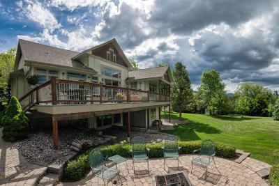 Missoula MT Single Family Home For Sale: $930,000