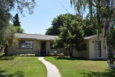 Missoula Single Family Home For Sale: 665 East Kent Avenue