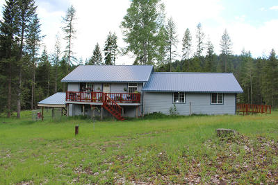 Lincoln County Single Family Home Under Contract Taking Back-Up : 4094 Old Us Hwy 2 North