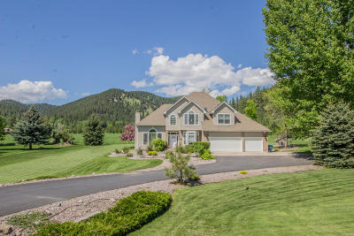 Missoula Single Family Home For Sale: 870 Mellot Lane