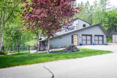 Whitefish Single Family Home For Sale: 1865 Four Wheel Drive