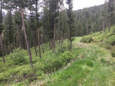 Missoula County Residential Lots & Land For Sale: Nhn Miller Creek