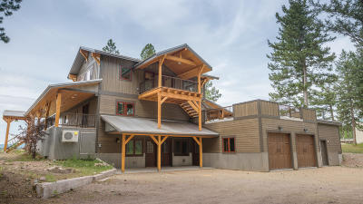Seeley Lake Single Family Home For Sale: 2560&2568 Horseshoe Hills Trail