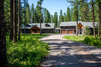 Whitefish, Olney Single Family Home Under Contract Taking Back-Up : 763 Lodgepole Road