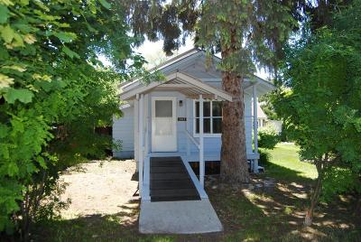 Missoula Single Family Home Under Contract Taking Back-Up : 1511 Philips Street
