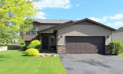 Kalispell Single Family Home Under Contract with Bump Claus: 165 Battle Ridge Drive