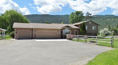 Missoula Single Family Home Under Contract Taking Back-Up : 11375 Windemere Drive