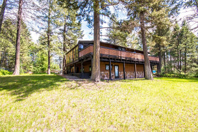 Whitefish Single Family Home Under Contract Taking Back-Up : 243 Deer Trail