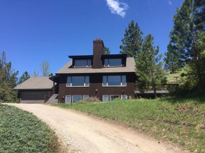 Missoula Single Family Home Under Contract Taking Back-Up : 5170 Elk Ridge Road