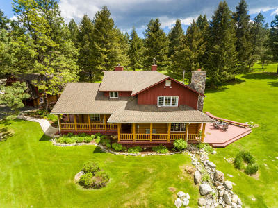Kalispell Single Family Home Under Contract Taking Back-Up : 400 Orchard Ridge Road