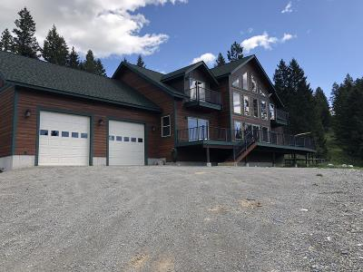 Flathead County Single Family Home Under Contract Taking Back-Up : 345 Jackson Meadows Road