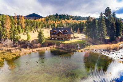 Seeley Lake Single Family Home For Sale: 3877 Hwy 83
