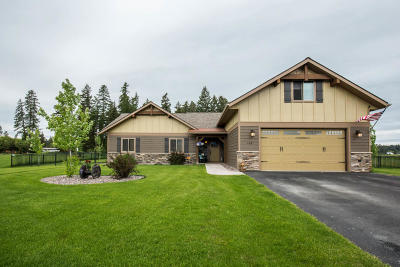 Flathead County Single Family Home For Sale: 109 Whispering Meadows Trail