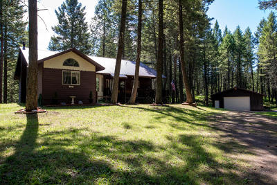 Flathead County Single Family Home Under Contract with Bump Claus: 149 Tall Timber Trail