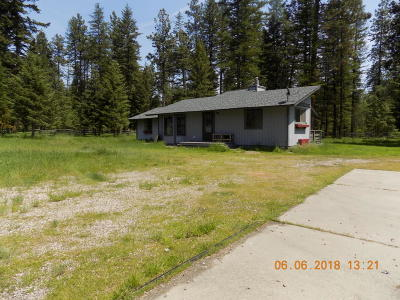 Polson Single Family Home Under Contract Taking Back-Up : 42898 Jette Lake Trail