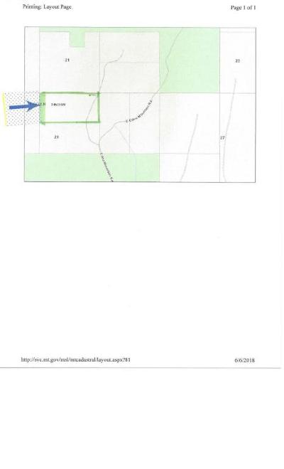 Lincoln County Residential Lots & Land For Sale: Nh N Fs Rd 3637