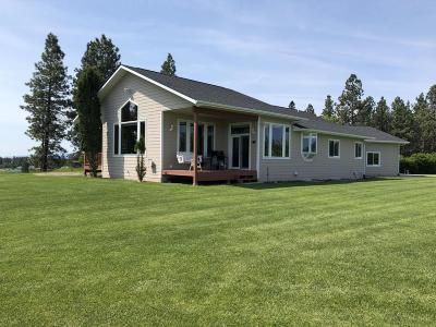 Flathead County Single Family Home Under Contract Taking Back-Up : 3200 Trumble Creek Road