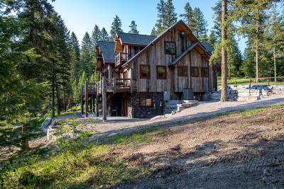 Whitefish Single Family Home For Sale: 2870 Highway 93 West