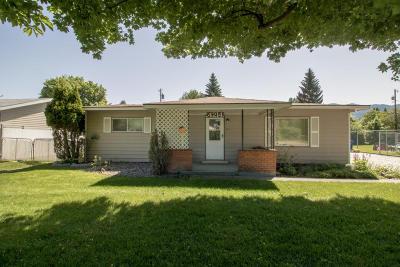 Missoula Single Family Home For Sale: 4214 Gharrett Street