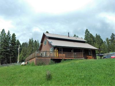 Seeley Lake MT Single Family Home For Sale: $185,000