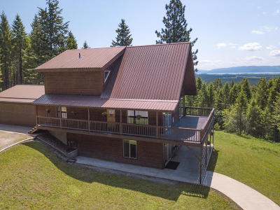 Flathead County Single Family Home Under Contract Taking Back-Up : 440 Peters Creek Way
