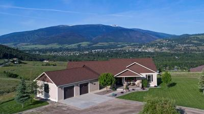 Missoula Single Family Home Under Contract Taking Back-Up : 3522 Trails End Road