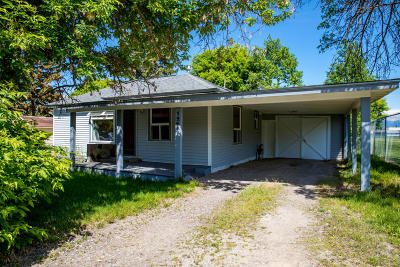 Flathead County Single Family Home Under Contract Taking Back-Up : 1245 4th Avenue West