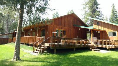 Seeley Lake Single Family Home Under Contract Taking Back-Up : 545 Whitetail Drive