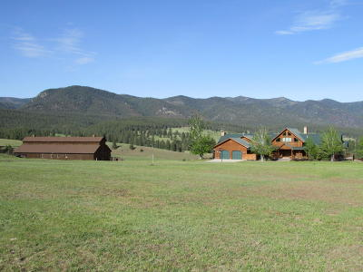 Missoula County Single Family Home For Sale: 17777 Tall Timber Road