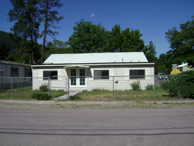 Superior MT Single Family Home For Sale: $155,000