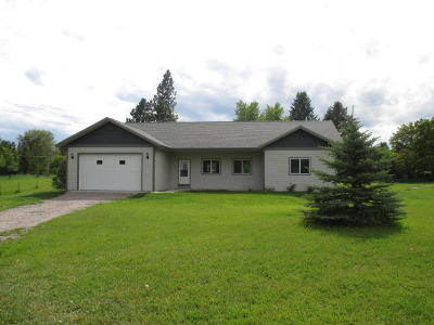 Kalispell Single Family Home For Sale: 196 Zimmerman Road