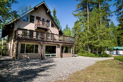 Whitefish Single Family Home For Sale: 675 Beaver Lake Road