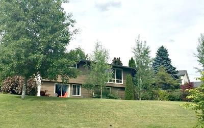Flathead County Single Family Home Under Contract Taking Back-Up : 121 Hilltop Avenue
