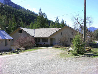 Sanders County Single Family Home For Sale: 188 Thompson River Road