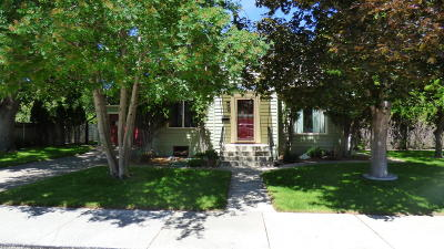 Missoula Single Family Home Under Contract Taking Back-Up : 670 North Avenue East