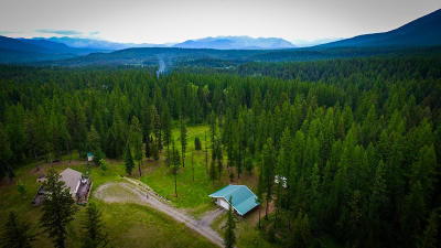 Flathead County Single Family Home For Sale: 1050 Diller Road