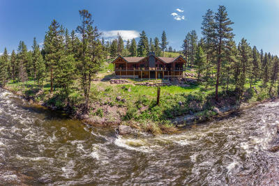 Condon, Potomac, Seeley Lake Single Family Home For Sale: 1933 River Watch Trail