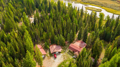 Flathead County Single Family Home For Sale: 9585 Highway 93 North