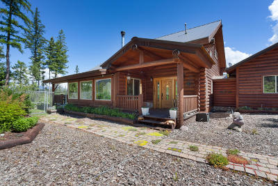 Columbia Falls, Hungry Horse, Martin City, Coram Single Family Home For Sale: 1001 Glacier Hills Drive