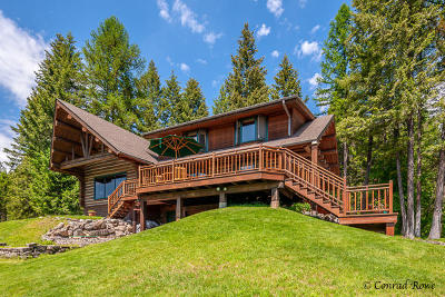 Whitefish MT Single Family Home For Sale: $1,395,000
