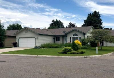 Kalispell Single Family Home Under Contract Taking Back-Up : 368 Ponderosa Street