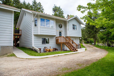 Flathead County Single Family Home For Sale: 551 White Rabbit Lane