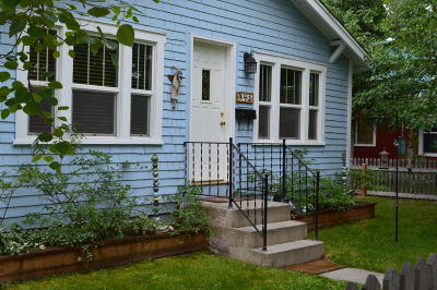 Whitefish Single Family Home Under Contract Taking Back-Up : 941 East 4th Street