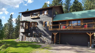 Seeley Lake Single Family Home For Sale: 340 Elkhorn Road