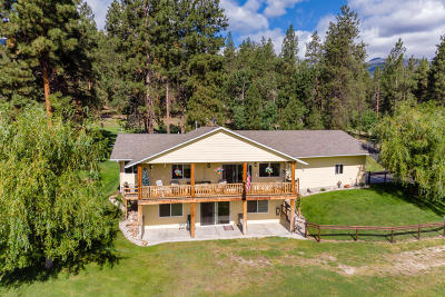 Ravalli County Single Family Home For Sale: 477 Sharrott Hill Loop